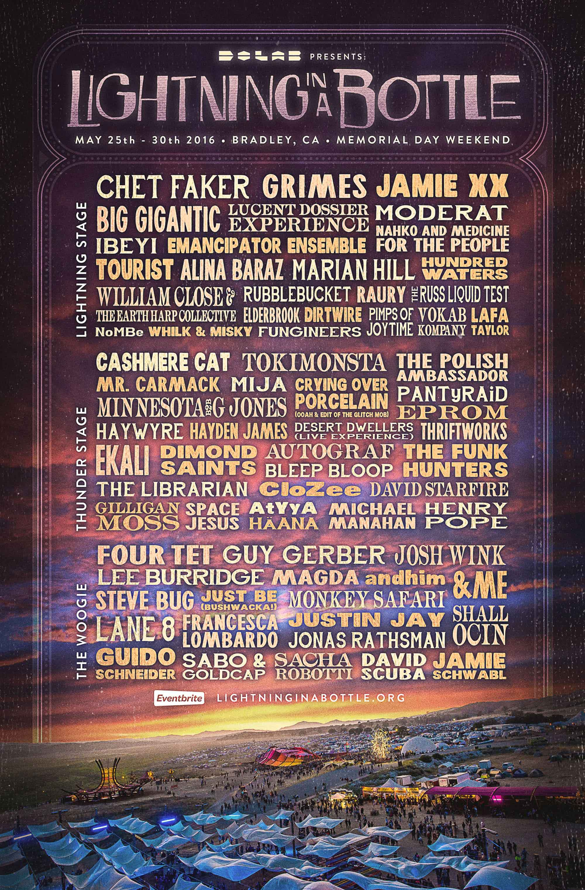 Lightning In A Bottle 2017 Lineup Announced Do Lab